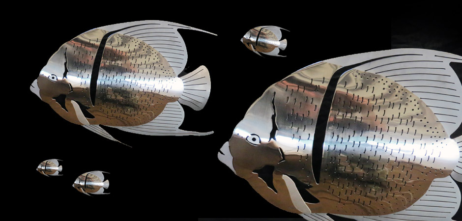Stainless Steel Angelfish