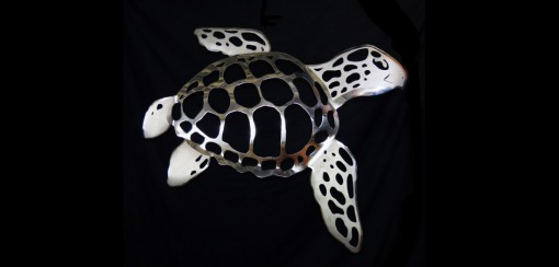 Stainless Steel Sea Turtle