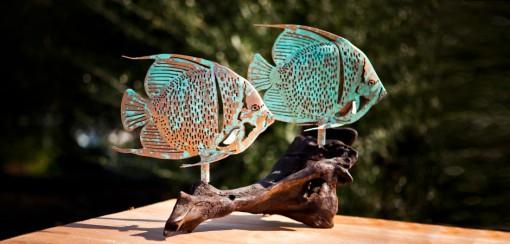 Angelfish Sculpture