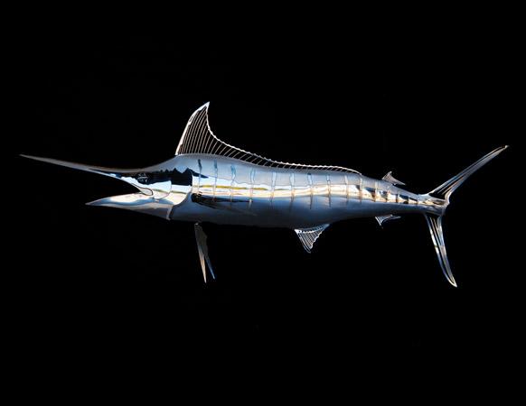Stainless Steel Blue Marlin