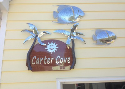 Carter Cove Sign