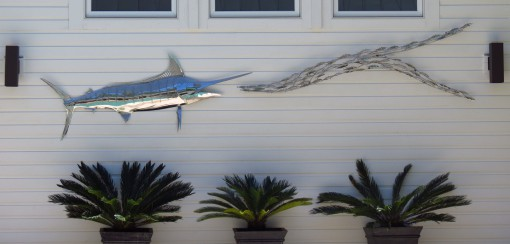 Blue Marlin / Bait Fish Array