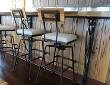 Bar Stools and Bar Supports