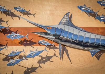 Blue Marlin Polished Steel 2