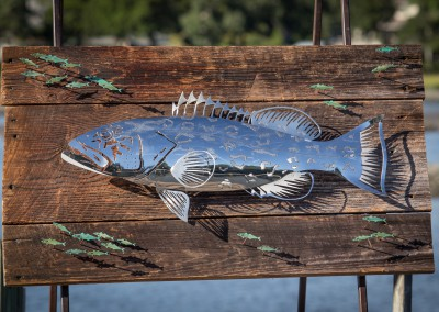 Grouper Polished Stainless Steel