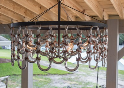 Horseshoe Chandelier