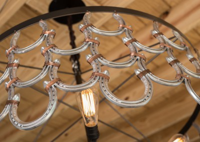 Horseshoe Chandelier 7