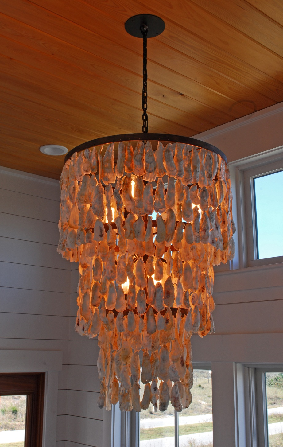 with s in living oyster today good twist chandelier a southern south