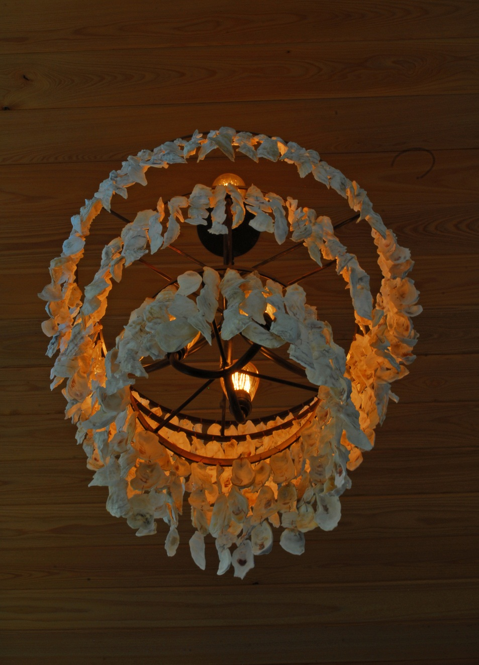 coastal cottage fixture crystal oyster chandeliers dining seashell lamp shell sailboat sea style glass pendant living rattan nautical light lighting chandelier