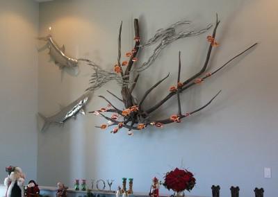Tarpon driftwood sculpture1