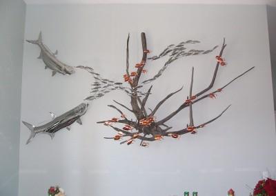 Tarpon driftwood sculpture2