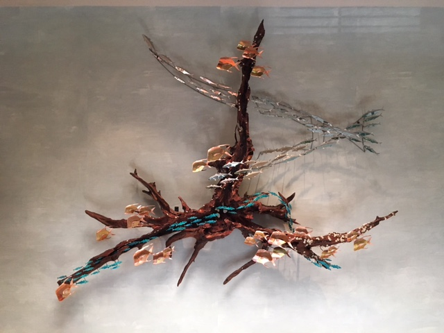 Driftwood wall sculpture 01