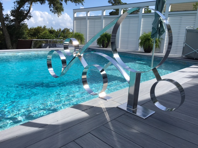Stainless Steel Pool Rails R Mended Metals LLC