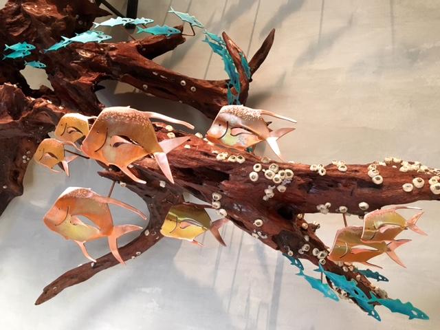 Driftwood Wall Sculpture 2