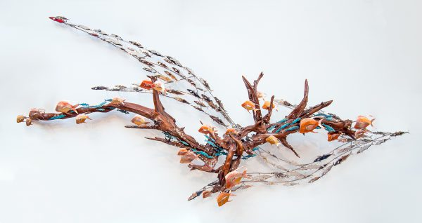'A Mess in June' Driftwood Sculpture